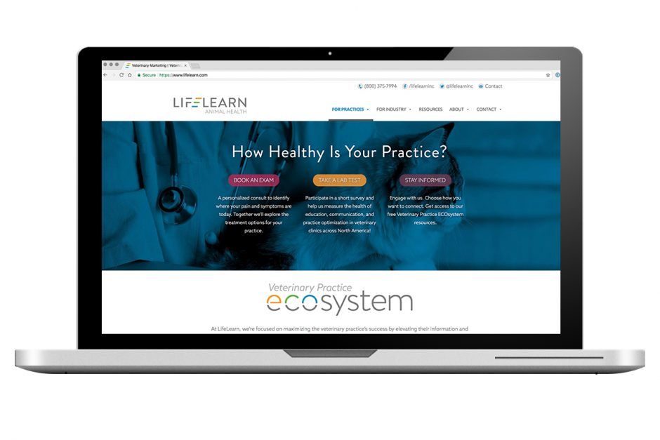 LIfeLearn Animal Health - Home Page